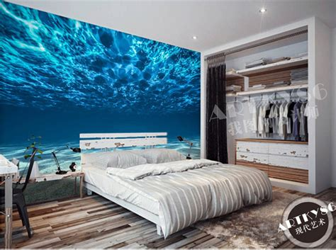 ocean bedroom decor ocean scenery wallpaper picture more detailed picture