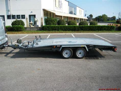 carrello porta auto usato vendo carrello rimorchio trasporto auto 20 qli