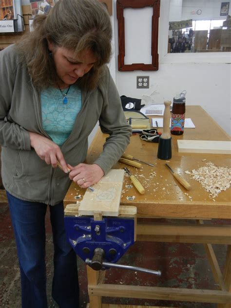 connecticut valley school  woodworking class mary
