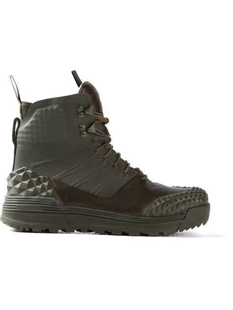 nike lunar boots nike lunar terra arktos sp boot in green for lyst