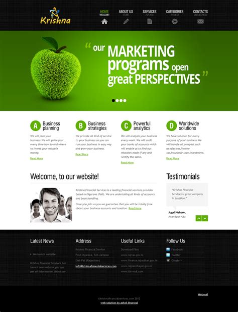 Website Template by Website Templates Fotolip Rich Image And Wallpaper