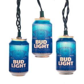 bud light string lights bar lights lightboxes officially licensed home bar