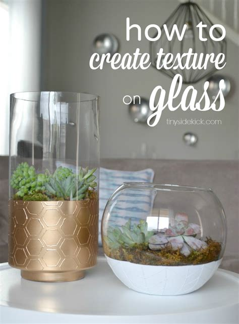 How To Make A Glass Vase by Diy Painted Vases With Texture West Elm Inspired