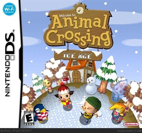 animal crossing nintendo ds hairstyles animal crossing 2 nintendo ds box art cover by black knight