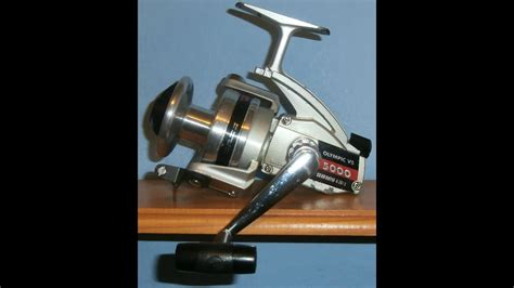 Versus Spinning Reel Glorious 5000 olympic vs 5000 japan 1970s sea fishing fixed spool spinning reel