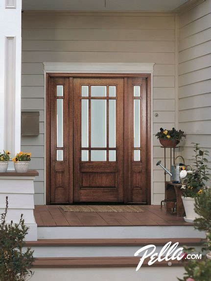 pella front doors with glass best 20 fiberglass entry doors ideas on entry