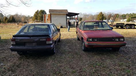 Renault Encore For Sale by 1984 Amc Renault Encore S Hatchback 1 4l 4 Speed Manual