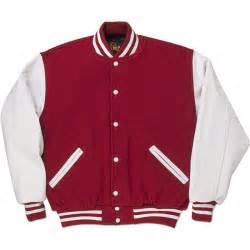 white standard letterman jacket standard jackets