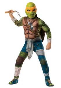 ninja turtle movie child deluxe michelangelo costume