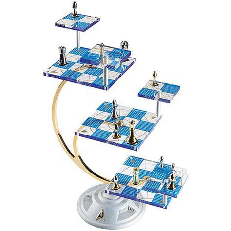 star trek tridimensional chess set   complex