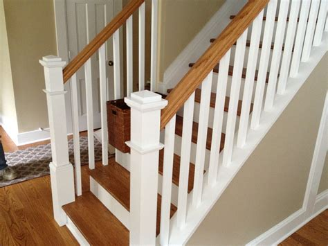 replacing banister spindles replace stair banister neaucomic com
