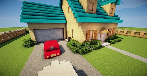 minecraft family house family guy house minecraft project