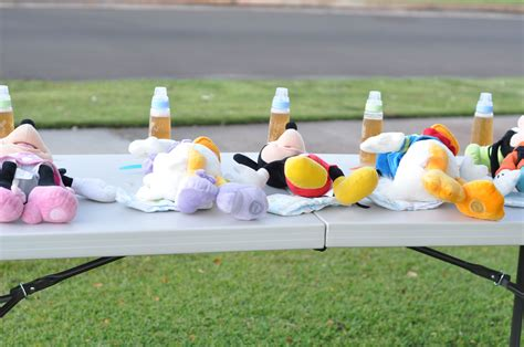 Baby Shower Relay Race baby shower mens relay race my creations