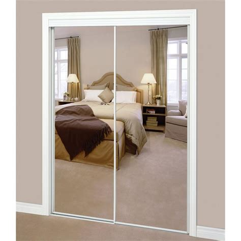 Sliding Closet Mirror Doors by Sliding Mirror Door Pair