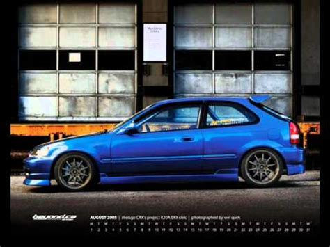 civic ek a tribute to the hatch ! youtube