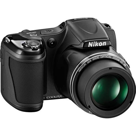 digital coolpix nikon coolpix l820 digital black 26402 b h photo