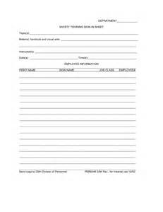 security sign in sheet template safety sign sheet templates pictures to pin on