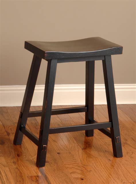 black counter stools backless biscayne black 24 backless counter stool from largo