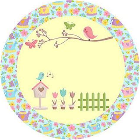 moldes de flores fazendo a minha festa fazendo a minha festa jardim de flores rosa e azul kit