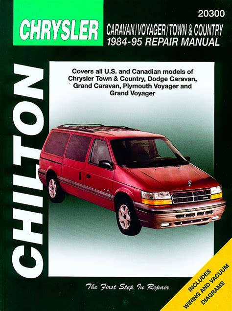 motor repair manual 1995 plymouth grand voyager spare parts catalogs chrysler voyager dodge caravan 1984 1995