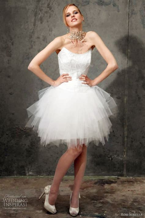 tutu bridal dress rosi strella 2012 wedding dresses wedding inspirasi