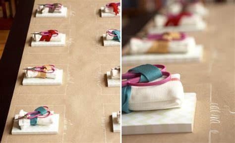 Craft Paper Table Runner - diy table runners