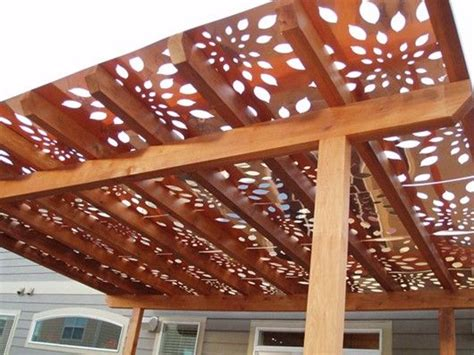 Build A Pergola And Cover It With These Panels Awesome Pergola Shade Panels