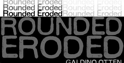 dafont eroded rounded eroded font dafont com