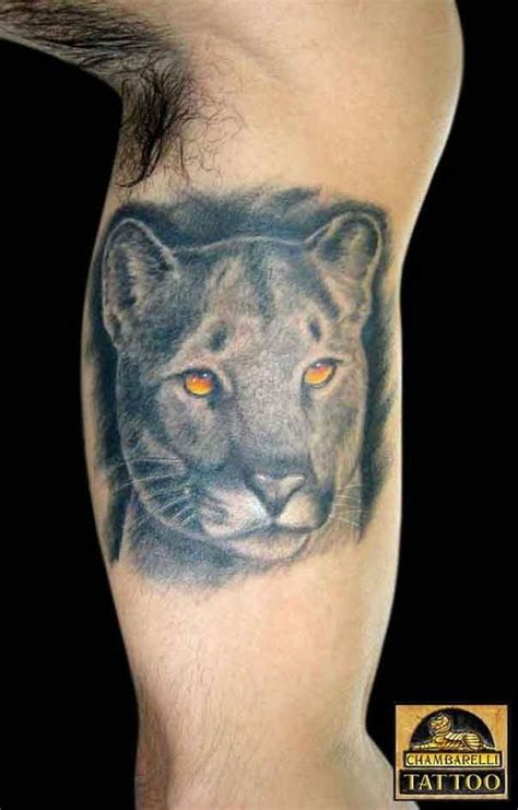 mountain lion tattoo mountain pictures to pin on tattooskid