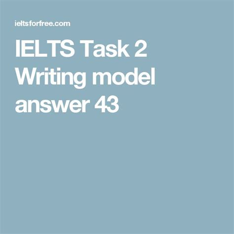 ielts task 2 opinion essay 4 paragraph model updated 161 best images about ielts preparation academic writing
