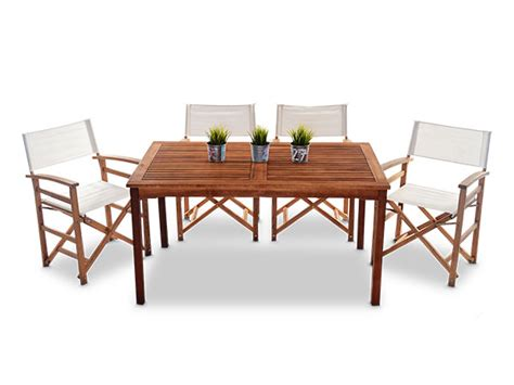 outdoor wooden table and chairs outdoor wooden tables with directors chairs innovative hire