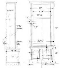 plans  gun cabinets  woodworking plans  projects