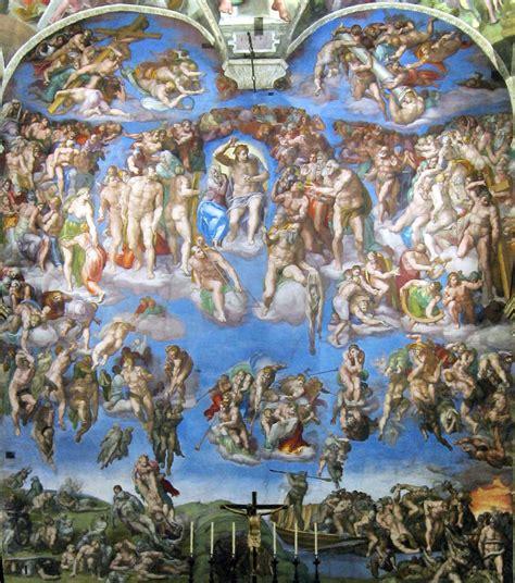 testo giudizio universale la cappella sistina di michelangelo buonarroti