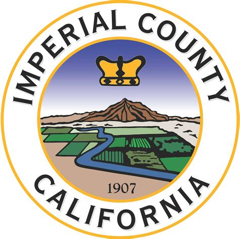 Imperial County Records Archivo Seal Of Imperial County California Png La Enciclopedia Libre
