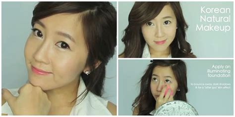 tutorial make up natural korea youtube tutorial memakai make up natural ala korea saubhaya makeup