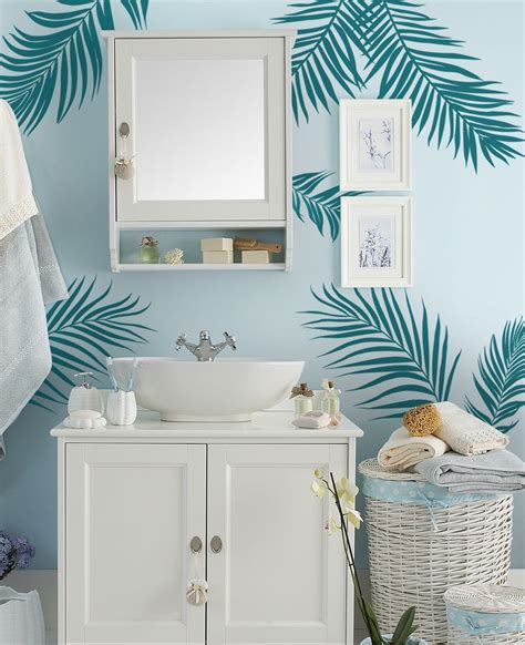 palm tree wall stickers palm leaves wall decal
