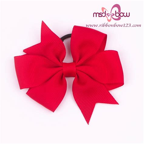 wholesale grosgrain bows for wine bottle ribbon bow with