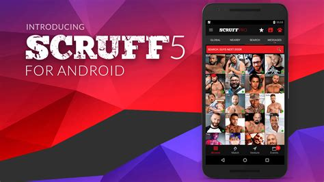 scruff for android introducing scruff 5 for android scruff