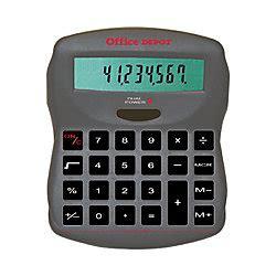 Office Depot Calculators by Office Depot Brand 880 Desktop Calculator By Office Depot