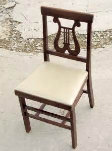 antique harp chair antique folding chair harp back chair vtg wood wooden ebay