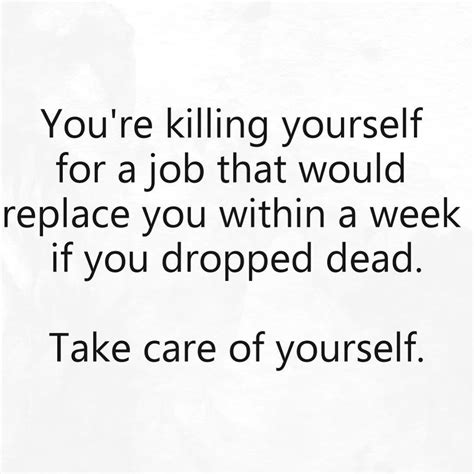4 Health Posts Worth Thinking About by If You Are Working At A That You Are Killing Yourself