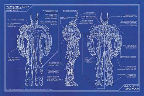 blue print design gallery for gt batman blueprints armor