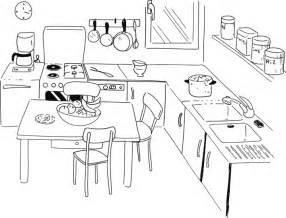 coloriage cuisine recette casseroles