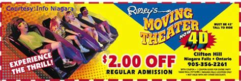 ripleys coupons niagara falls: discount coupon & tickets