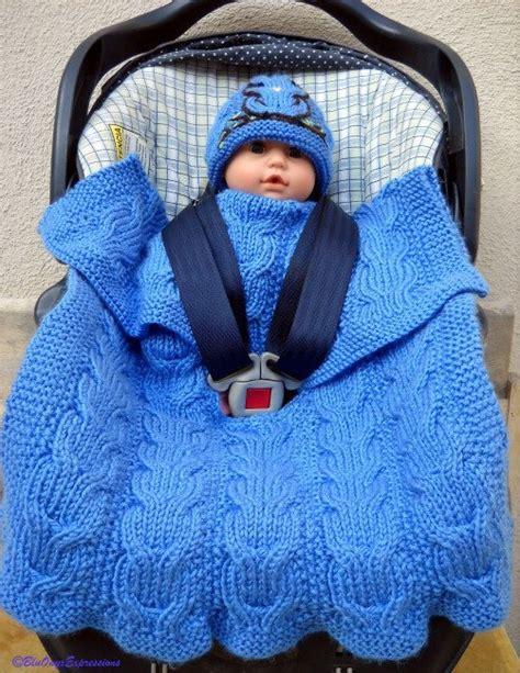 infant car seat blanket reversible cable knitting patterns knitting patterns