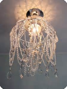 home made chandelier my house of giggles diy chandelier