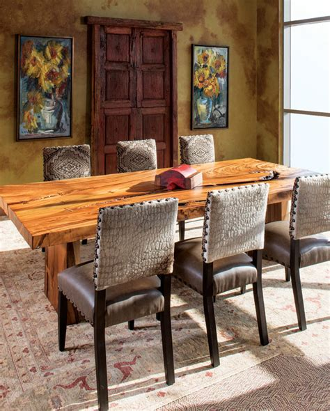 Western Dining Room Furniture by Shop The Look Sunny Dining Room Rustic Western