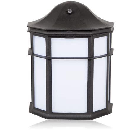 Decorative Outdoor Lighting Fixtures Maxxima Outdoor Led Wall Light Lantern Style Decorative Outdoor Sconce With Dusk To Sensor