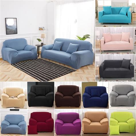 Where To Get Sofa Covers by 1 2 3 Seater Sofa Slipcover Stretch Protector Soft