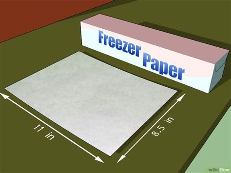 printable freezer paper uk how to print on fabric using freezer paper 6 steps